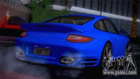 Porsche 911 Turbo Bi-Color for GTA San Andreas back left view