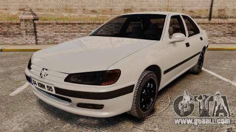 Peugeot 406 for GTA 4