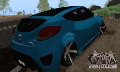 Hyundai Veloster for GTA San Andreas right view