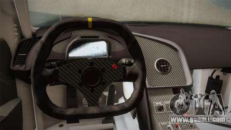Audi R8 LMS v2.0.4 DR for GTA San Andreas interior