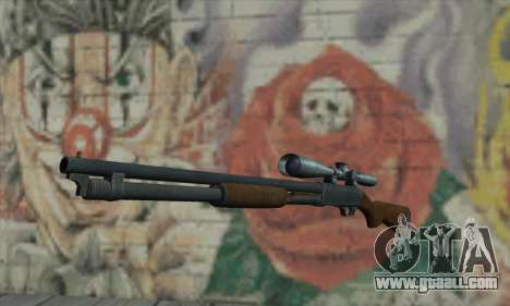 Shotgun Model 12 for GTA San Andreas
