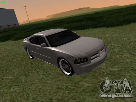 Dodge Charger RT 2008 for GTA San Andreas