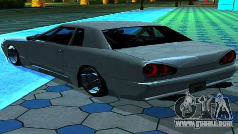 Elegy 280sx v2.0 for GTA San Andreas inner view