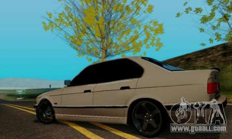 BMW 525 Re-Styling for GTA San Andreas right view