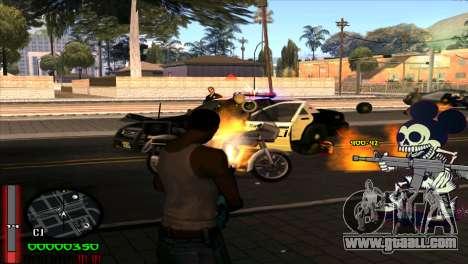 C-Hud Mickey for GTA San Andreas third screenshot
