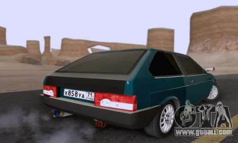 VAZ 2108 Tula for GTA San Andreas back left view