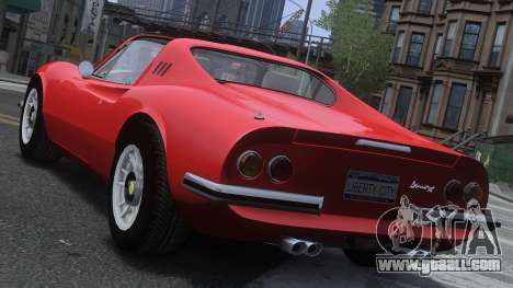 Ferrari Dino 246 GTS for GTA 4 back left view