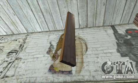 Wooden boards for GTA San Andreas second screenshot