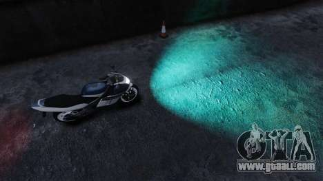 Water headlights for GTA 4 second screenshot
