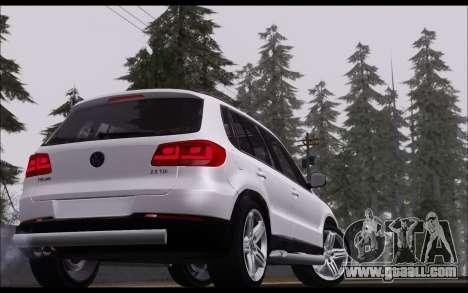 Volkswagen Tiguan 2012 for GTA San Andreas right view