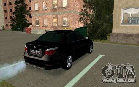 BMW 530xd for GTA San Andreas right view