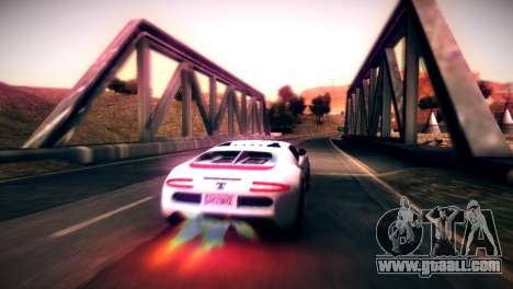 Adder of GTA V for GTA San Andreas left view