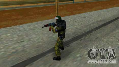 Soldier Of Special Forces for GTA Vice City second screenshot