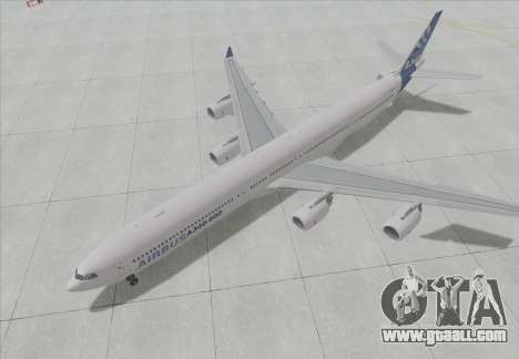 Airbus A340-600 for GTA San Andreas left view