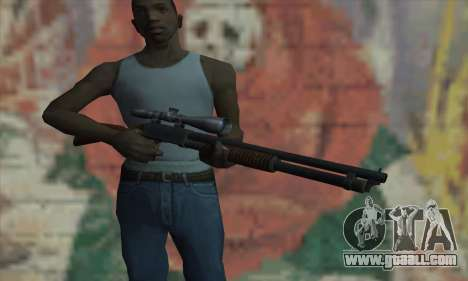 Shotgun Model 12 for GTA San Andreas third screenshot