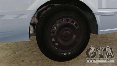 Nissan Tsuru for GTA 4 back view