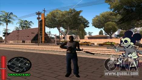 C-Hud Mickey for GTA San Andreas