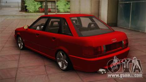 Audi 80 B4 RS2 for GTA San Andreas right view