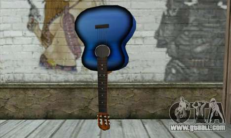 Guitar for GTA San Andreas