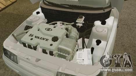 VAZ-2112 for GTA 4 inner view