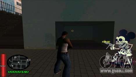 C-Hud Mickey for GTA San Andreas second screenshot