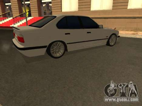BMW 525 Smotra for GTA San Andreas inner view