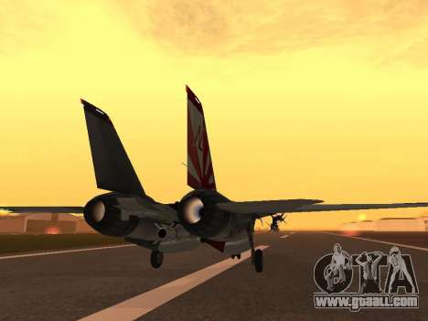 F-14 Tomcat HQ for GTA San Andreas right view
