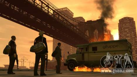 Boot screens GTA IV for GTA 4 seventh screenshot