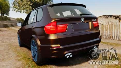 BMW X5M v2.0 for GTA 4 back left view