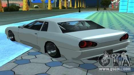 Elegy 280sx v2.0 for GTA San Andreas bottom view