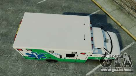 Brute GQ Med Ambulance [ELS] for GTA 4 right view