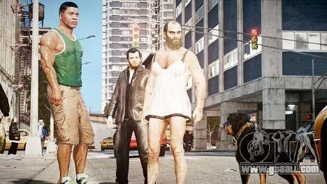 GTA V Michael De Santa for GTA 4 third screenshot
