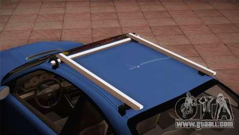 BMW M3 E46 Hellaflush for GTA San Andreas back view