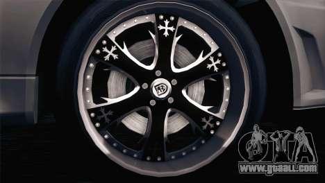 Nissan Skyline GT-R R34 V-Spec Lexani Rims for GTA San Andreas left view