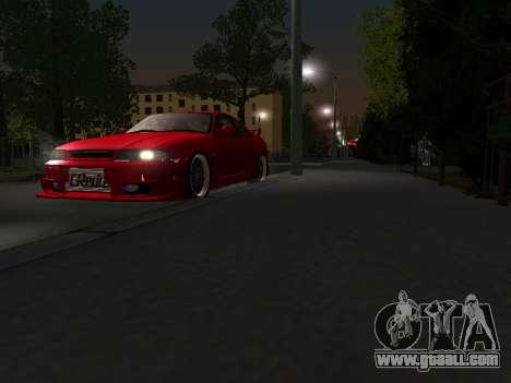 Nissan Skyline R33 GT-R V-Spec for GTA San Andreas inner view