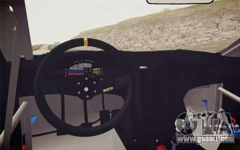 Hyundai Genesis Coupe 2010 Tuned for GTA San Andreas back view