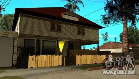 Modern house of Sijia v1.0 for GTA San Andreas third screenshot