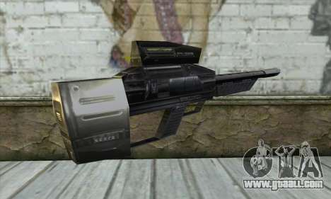 P-Laser Sniper Rifle for GTA San Andreas second screenshot