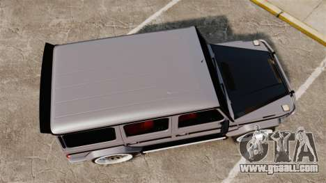 Mercedes-Benz G65 2012 AMG Hamann for GTA 4 right view