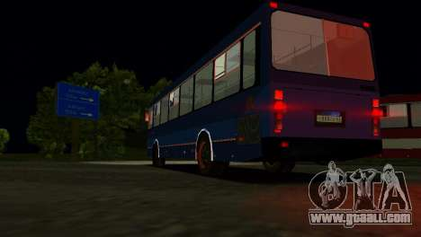LIAZ-5256 for GTA Vice City upper view