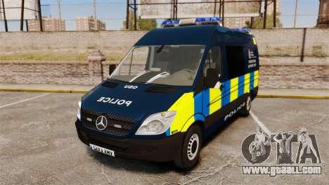 Mercedes-Benz Sprinter Police [ELS] for GTA 4