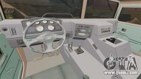 Dongfeng EQ2050 for GTA 4 inner view