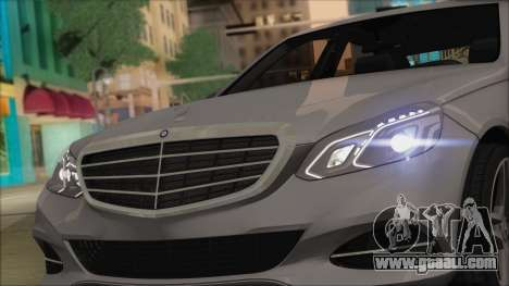 Mercedes-Benz E63 AMG 2014 for GTA San Andreas inner view