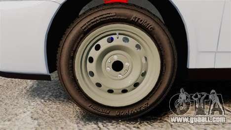 VAZ-2170 Police for GTA 4 back view