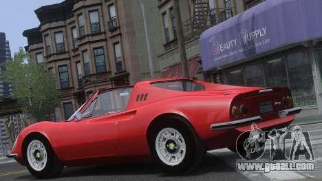 Ferrari Dino 246 GTS for GTA 4 side view