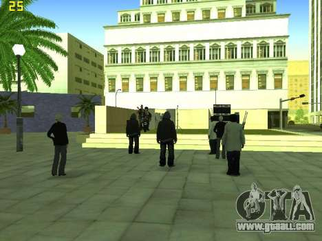 The concert Film for GTA San Andreas seventh screenshot