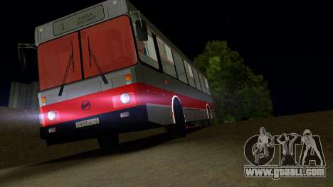 LIAZ-5256 for GTA Vice City interior
