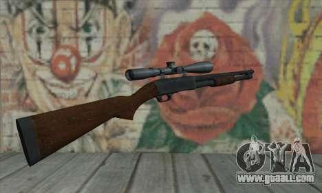 Shotgun Model 12 for GTA San Andreas second screenshot