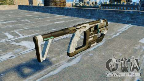 Submachine gun K-Volt v 2.0 for GTA 4 second screenshot