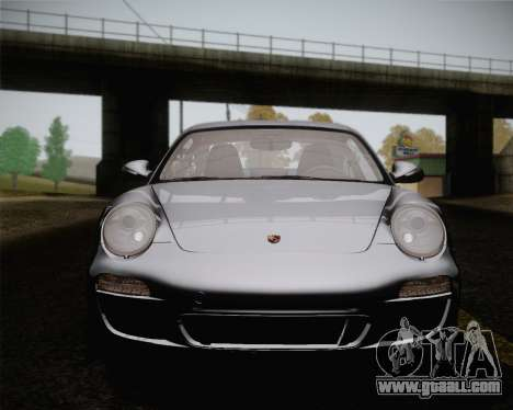 Porsche 911 Carrera for GTA San Andreas upper view